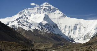 Wikipedia: Mount Everest by Luca Galuzzi – CC BY-SA 2.5