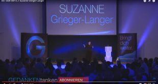 GEDANKENtanken. Suzanne Grieger-Lange