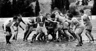Rugby Team by Quino