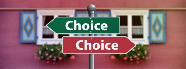 Auswahl - Entscheidung